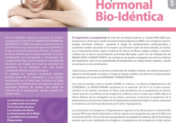 Terapia de Reemplazo Hormonal Bio-Idéntica